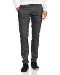 Pantalon chino gris foncé Jeckerson