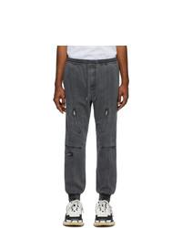 Pantalon chino gris foncé Juun.J