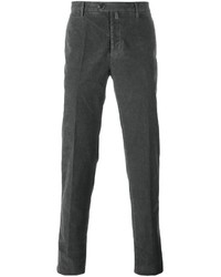 Pantalon chino gris foncé Kiton