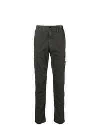 Pantalon chino gris foncé Stone Island