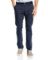 Pantalon chino gris foncé Tom Tailor Denim