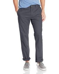 Pantalon chino gris foncé Volcom