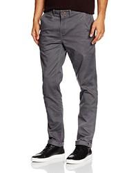 Pantalon chino gris foncé Wrangler