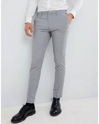 Pantalon chino gris Burton Menswear