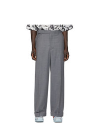 Pantalon chino gris Eckhaus Latta