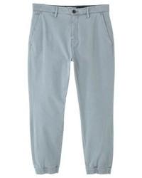 Pantalon chino gris Mango