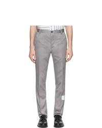 Pantalon chino gris Thom Browne