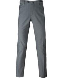 Pantalon chino imprimé gris Pt01
