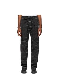 Pantalon chino imprimé noir et blanc Fear Of God
