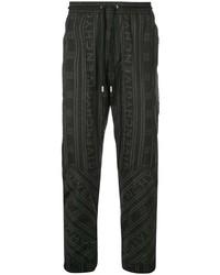 Pantalon chino imprimé noir Givenchy