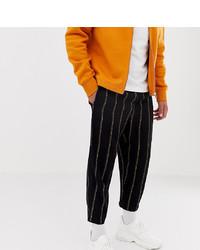 Pantalon chino imprimé noir Reclaimed Vintage