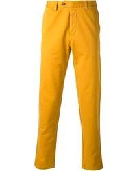 Pantalon chino jaune Ami