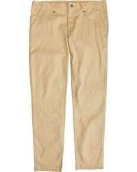 Pantalon chino marron clair