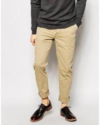 Pantalon chino marron clair Asos