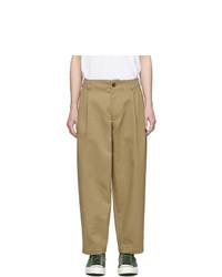 Pantalon chino marron clair Comme Des Garcons SHIRT