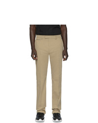 Pantalon chino marron clair Fendi