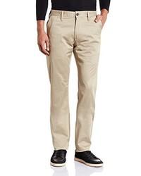 Pantalon chino marron clair G-Star RAW