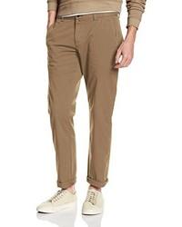 Pantalon chino marron clair Gant