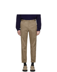 Pantalon chino marron clair Gucci