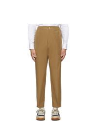 Pantalon chino marron clair Gucci