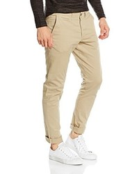 Pantalon chino marron clair Jack & Jones