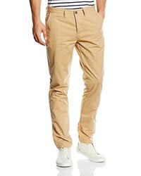 Pantalon chino marron clair Lyle & Scott