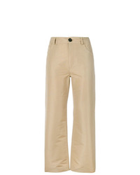 Pantalon chino marron clair Marni