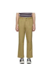Pantalon chino marron clair Noah NYC