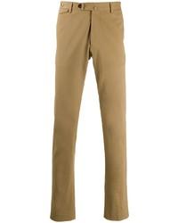 Pantalon chino marron clair Tagliatore