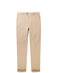 Pantalon chino marron clair Tod's