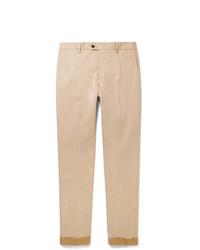 Pantalon chino marron clair Tod's