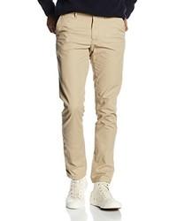 Pantalon chino marron clair Tommy Hilfiger