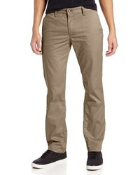 Pantalon chino marron clair Volcom