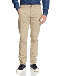 Pantalon chino marron clair Wrangler