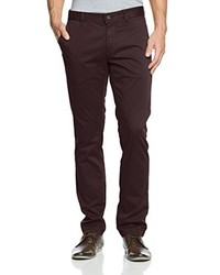 Pantalon chino marron foncé Boss Orange