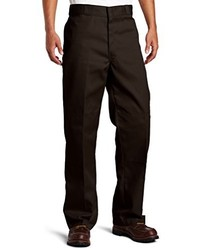 Pantalon chino marron foncé Dickies