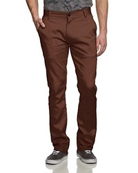 Pantalon chino marron foncé Emerica
