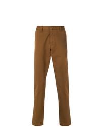 Pantalon chino marron AMI Alexandre Mattiussi