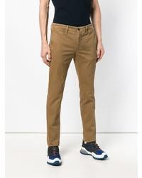Pantalon chino marron Moncler
