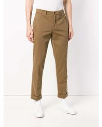 Pantalon chino marron Aspesi