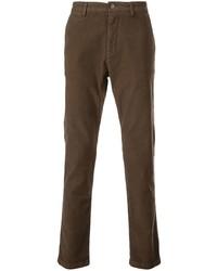 Pantalon chino marron Eleventy