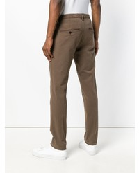 Pantalon chino marron Dondup