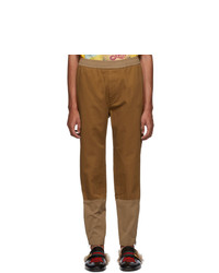 Pantalon chino marron Gucci