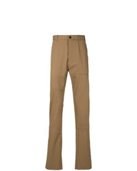Pantalon chino marron Lanvin