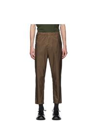 Pantalon chino marron Prada