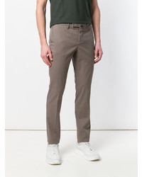Pantalon chino marron Incotex