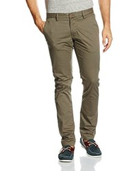 Pantalon chino marron Teddy Smith
