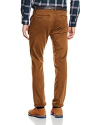 Pantalon chino marron Tom Tailor Denim