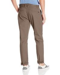 Pantalon chino marron Volcom