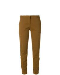 Pantalon chino moutarde